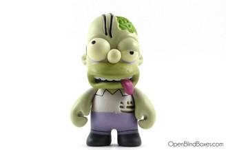 Zombie Homer Simpsons Series 2 Kidrobot Front