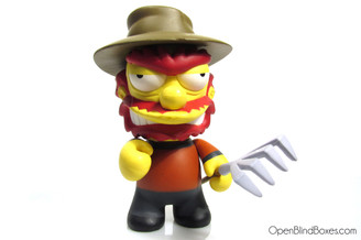 Freddy Krueger Willie Kidrobot Treehouse Of Horror Front