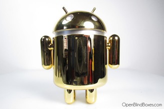 Google Gold Android Series 4 Front