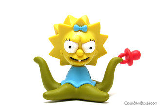 Alien Maggie Simpsons Treehouse Of Horror Kidrobot Front