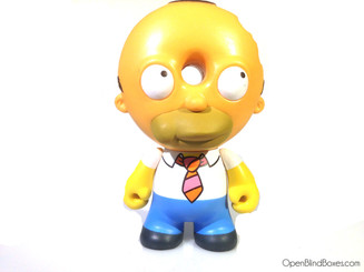 Doughnut Head Homer Simpsons Treehouse Kidrobot Front