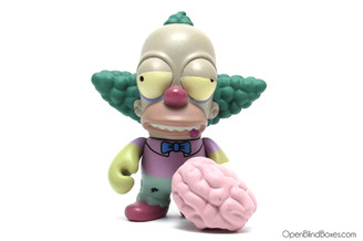 Zombie Krusty The Clown Simpsons Treehouse Front