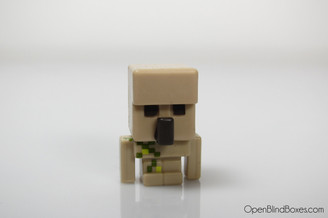 Minecraft Iron Golem Grass Series 1 Mattel Front