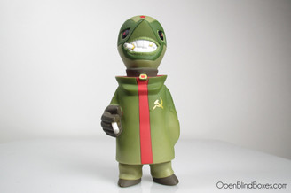 Frank Kozik Red Tide Mini Gobi Front