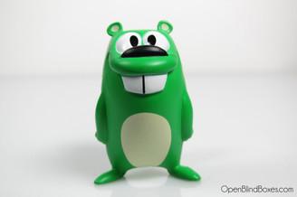 Get Lucky Beaver Green Jeff Pidgeon Front