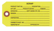IT 1006 Scrap Tags - Yellow