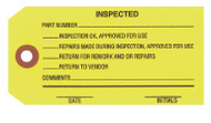 IT 1007 Inspected Tags - Yellow