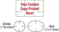 CTP 1001 Custom Tamperproof Seals