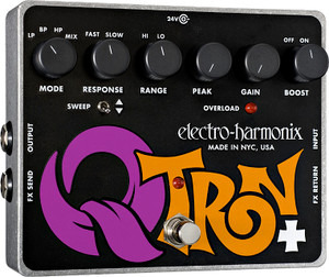 Electro Harmonix    Q-Tron Plus  Envelope Filter with Effects Loop