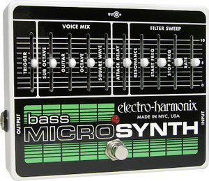 Electro Harmonix   Bass Microsynthesizer