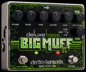 Electro Harmonix Deluxe Bass Big Muff Pi  Distortion/Sustainer