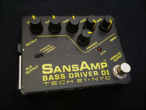 Used Tech 21 SansAmp Bass Driver DI  SOLD