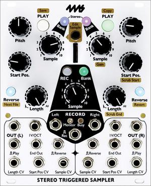4ms Stereo Triggered Sampler (STS)