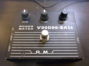 Used Roger Mayer   Voodoo-Bass SOLD!!!