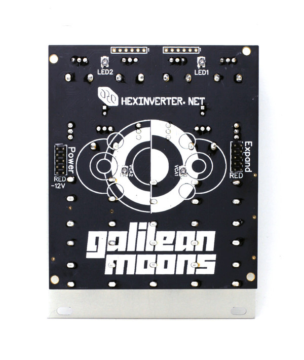 Hexinverter Électronique GALILEAN MOONS Dual Function Generator and VCA pairs