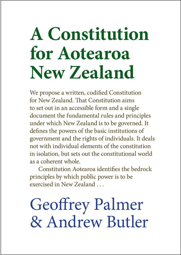 A Constitution for Aotearoa New Zealand