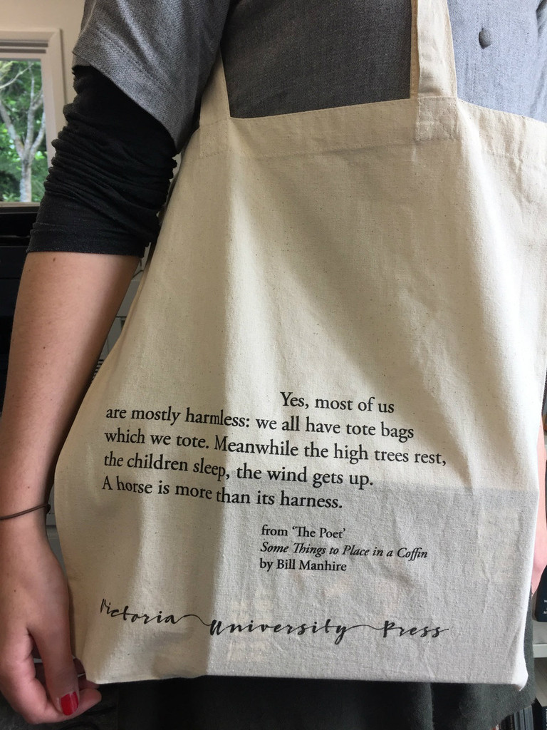 All you can tote...in a VUP tote bag