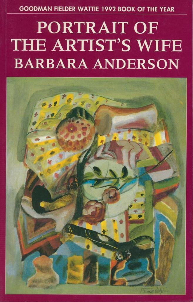 Portrait of the Artist's Wife - op