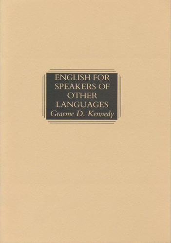 English for Speakers of Other Languages