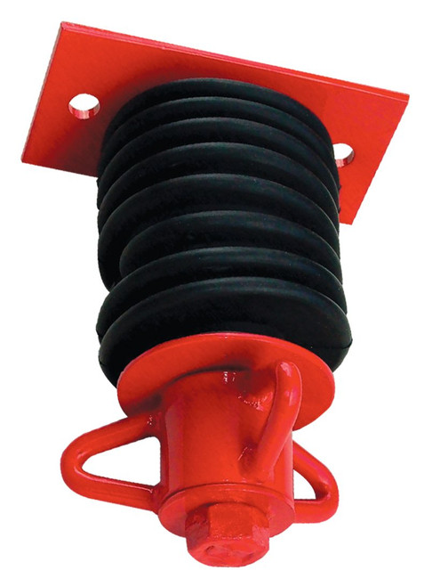 A136 - Extra Heavy Duty 3 Prong Wood Beam Tire Swivel - Commercial Montgomery Tire Swings