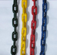C125 - 8.5 foot Plastisol Coated Chain - USA - Commercial