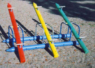 Three Station Teeter Totter