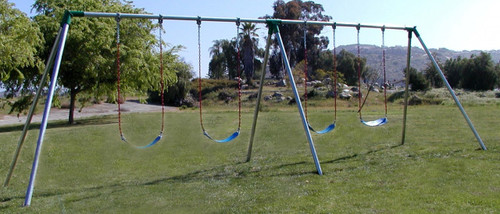 S104 - Standard 10' High - 4 Swing - 2 Bay - Residential ONLY