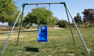 "S61o - Outdoor Standrard 6"" High - 1 Swing - 1 Bay - Residential Only"