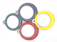 A172 - Plastisol Coated Aluminum Ring - Commercial