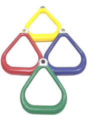 A185 - Plastisol Coated Triangle - Commercial