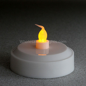 Large Tealight 2 In One - Amber Glow and Color Changing Mode