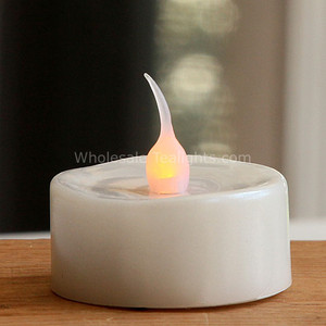 Flameless LED Pearl Tealights - 3 Pack