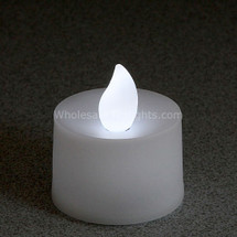 Flickering White Flameless TeaLight Candles - 12 Pack