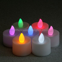 Color Changing Flameless TeaLight Candles - 12 Pack