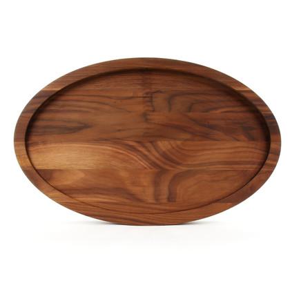 15 x 24 Oval Walnut Cutting Board