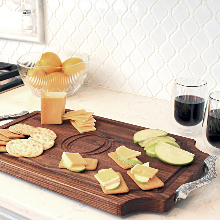 cheese-wrangler-walnut-cheese-board-handles-personalized-engraved-initial-monogram-letter-1