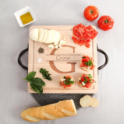 square-maple-cutting-board-tray-personalized-family-name-gift