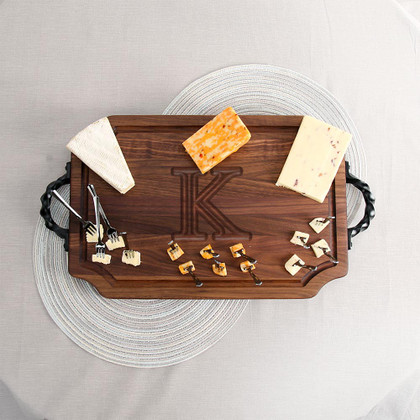 walnut-cheese-board-twisted-handles-personalized-monogrammed-1