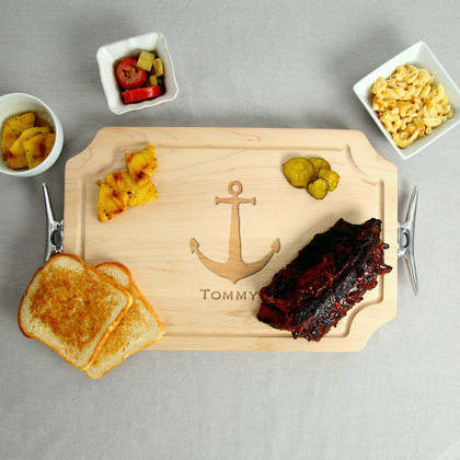 maple-nautical-cutting-board-cleat-handles-personalized-engraved