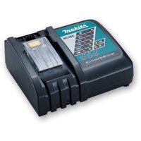 Makita DC18RC Black Li-ion 7.2V - 18V Fast Battery Charger from Duotool.