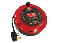 Faithfull Power Plus Cable Reel 240 Volt 10 Metre 10 Amp 4 Socket| Duotool