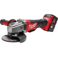 Milwaukee M18CAG115XPDB-502X 18V 5.0Ah 115mm Angle Grinder from Toolden.