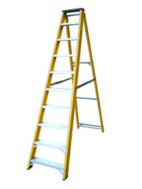 Lyte GFBB10 10 Step Fibreglass Ladder from Duotool