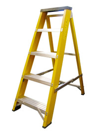 Lyte GFBB4 4 Step Fibreglass Ladder from Duotool
