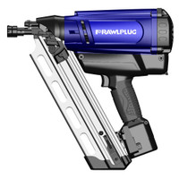 Rawlplug WW90CH Gas Framing Nailer with 2 Batteries from Duotool