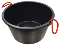 Faithfull Builders Bucket Black 40 Litre (9 Gall)| Duotool