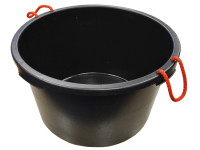 Faithfull Builders Bucket Black 65 Litre (14 Gall)| Duotool