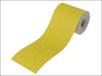 Faithfull Aluminium Oxide Sanding Paper Roll Yellow 115mm x 10m 80g