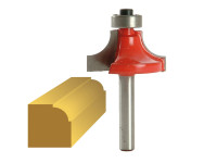 Faithfull Router Bit TCT 9.5mm Rounding Over 1/4in Shank| Duotool