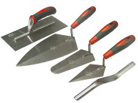 Faithfull Trowel Set of 5 Soft-Grip Handle